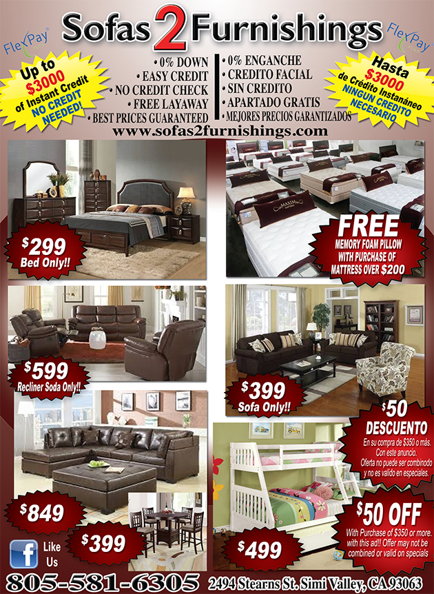 Sofa 2 Furnishings Current Ad